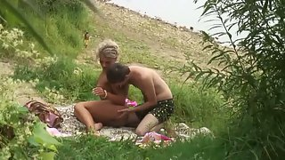 Tanned ash-blonde beautiful wife sex by the sea spycam porn flick