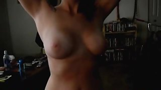 Gf cumming on movie while fucking her observe her sex face