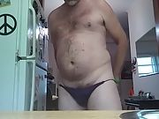 Danrun cums thick in friends wife panties
