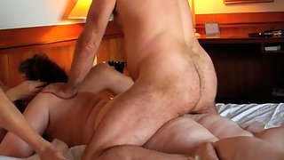 Married wifey sex mature swingers sharing one woman