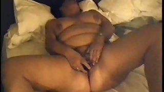 Wife masturbating with a vibro