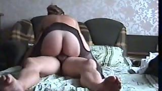 Hour long hump tape mature couple real life milf fuck-a-thon movie in bed