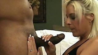 Hot wife fucked by first-ever bbc and tasting cum as hubby films