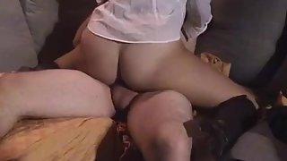Asian gf railing cock cowgirl and cumming